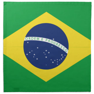 Brasilianische Flagge Serviette