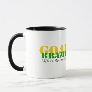 Brasilien - das Leben ist ein Fußball Tasse
