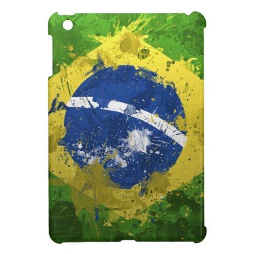 Brasilien-Flagge Hülle Fürs iPad Mini