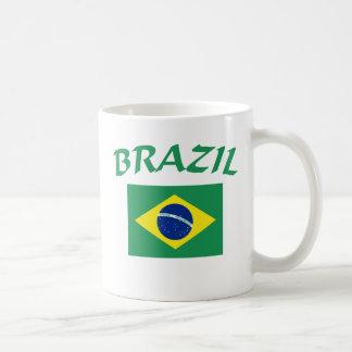 Brasilien-Flagge Kaffeetasse