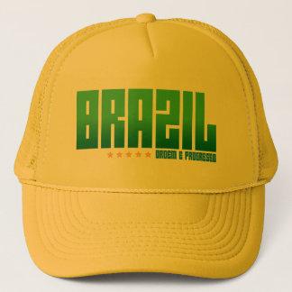 Brasilien-Hut Truckerkappe