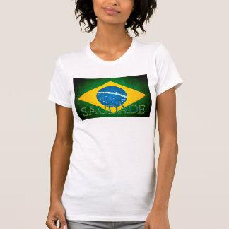 Brasilien Nostalgie Flag T-Shirt