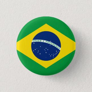 Brasilien Runder Button 3,2 Cm