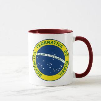 Brasilien-Staatsangehörig-Siegel Tasse