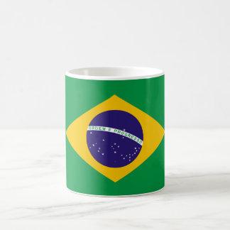 Brasilien-Staatsflagge Kaffeetasse