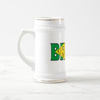 Brasilien Stein Bierglas