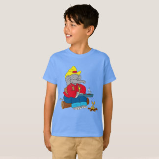 Braterdnuss-Elefant-Sheriff T-Shirt