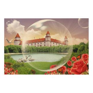 Bratislava-Schloss Holzleinwand