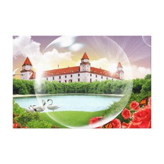 Bratislava-Schloss Leinwanddruck