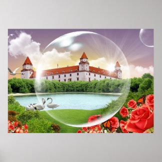 Bratislava-Schloss Poster