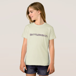 Brattleboro, Bio Logo-T - Shirt VT 1886
