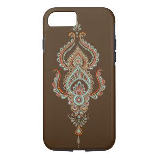 brauner Paisley starker iPhone 7 Kasten iPhone 8/7 Hülle