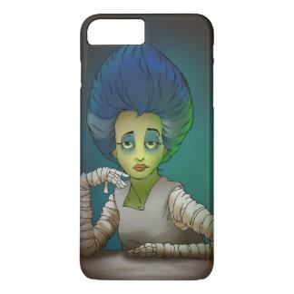 Braut des Frankenstein Telefonkastens iPhone 8 Plus/7 Plus Hülle