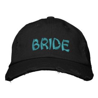 Braut gestickte Kappe Bestickte Baseballmütze