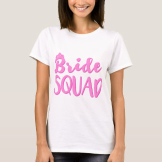 Braut-Gruppe Bachelorette Brautjungfern-Party-T - T-Shirt