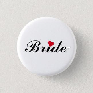 Braut-Hochzeits-Junggeselinnen-Abschieds-runder Runder Button 2,5 Cm