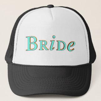 Braut-Hut/Kappe Truckerkappe