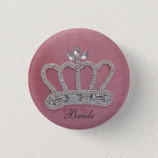 Braut-Knopf Runder Button 2,5 Cm