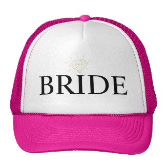 Braut-personalisierter Fernlastfahrer-Hut Caps