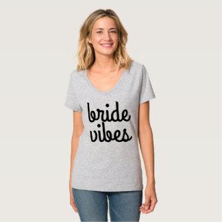 Braut-Schwingungen T-Shirt