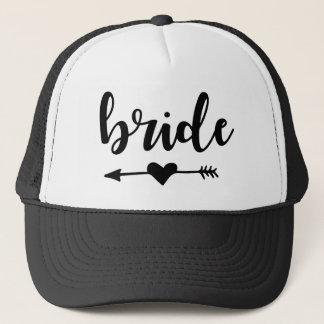 Braut-Stamm-Hut für Braut Truckerkappe