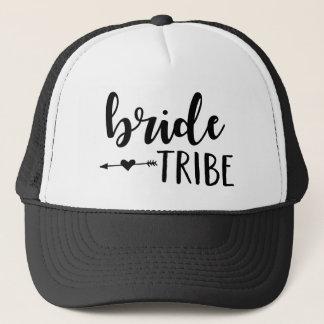 Braut-Stamm-Hut für Brautjungfer Truckerkappe
