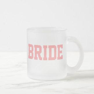 Braut-Tasse Matte Glastasse