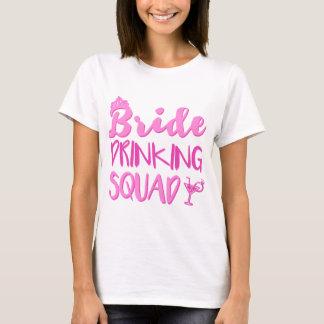 Braut-trinkender Gruppe-Junggeselinnen-Abschied T-Shirt