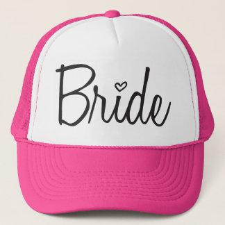 Braut Truckerkappe
