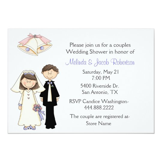 braut-und bräutigam-paar-polterabend-einladung karte | zazzle.ch, Einladung