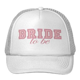 Braut, zum rosa Block zu sein Kultmütze