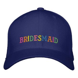 Brautjungfer Bestickte Baseballkappe