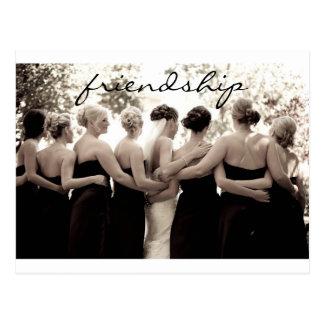 Brautjungfer danken Ihnen, Postkarte zu merken