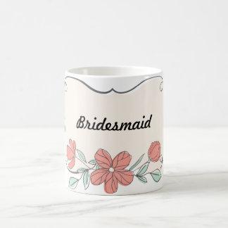 Brautjungfern-Klassiker-Tasse Kaffeetasse