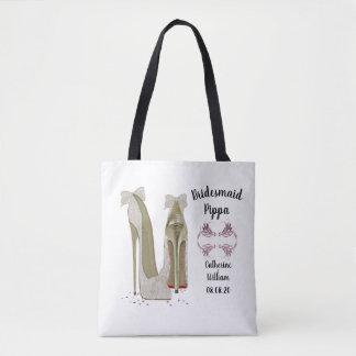 Brautjungfern-Memento-Geschenk-Taschen-Tasche Tasche