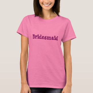 Brautjungfern-T - Shirt