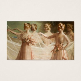 Brautjungfern Visitenkarte