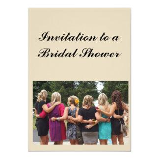 Brautparty-Einladung 12,7 X 17,8 Cm Einladungskarte