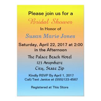 Brautparty-Einladung 14 X 19,5 Cm Einladungskarte