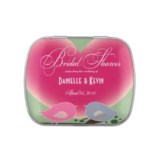 Brautparty-Gastgeschenk Hochzeits-Süßigkeits-Zinn Jelly Belly Dose