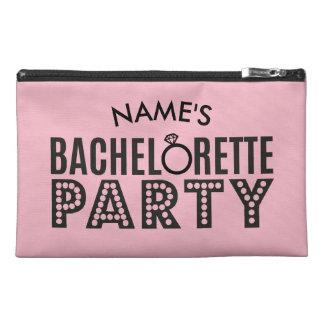 Brautparty-kundenspezifische rosa reisekulturtasche