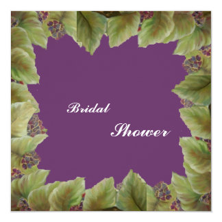 Brautparty Quadratische 13,3 Cm Einladungskarte