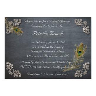 Brautparty, welches die Braut-Tafel ehrt 12,7 X 17,8 Cm Einladungskarte