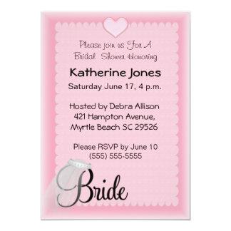 Brautschleier-Duschen-Einladungen 12,7 X 17,8 Cm Einladungskarte