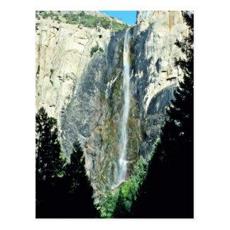 Brautschleier-Fälle - Yosemite Nationalpark Postkarte