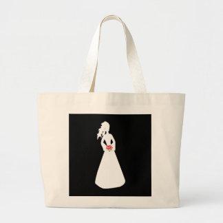 BrautSilhouette II Einkaufstaschen