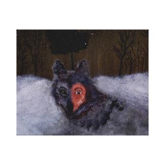 Bravewolf Leinwand-Druck Leinwanddruck