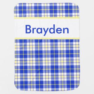 Braydens personalisierte Decke