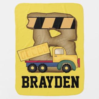 Braydens personalisierte Geschenke Kinderwagendecke