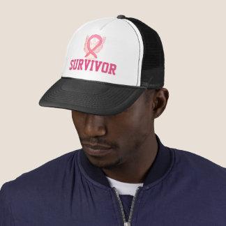 Breast Cancer Awareness Angel Ribbon Survivor Hats Baseballmütze